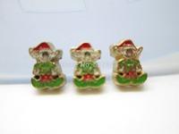 christmas elf santas helper Floating Charm Floating Locket charm Fits Living lockets 20pcs/lot Free shipping