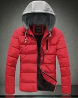 2014 New Men's Winter Jackets Men Hoody Jacket  Brand  Men's Winter Coat , Men Down Jackets