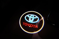 2 X Latest Car Courtesy Welcome Door Projector Logo LED Light for Toyota ( US Warehouse )