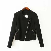 2014 Autumn new female long-sleeved  zipper jacket