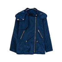 2014 European style fashion ladies  zipper hooded windbreaker  jacket