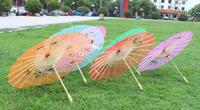 Fashion Hot Chinese style silk wedding umbrella color vintage umbrella dance umbrella bamboo cytoskeleton