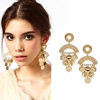 Mini Order $8.8(Mix Orders) Best Selling Fashion Beautiful Ladies Gold Drop Earring FE0119
