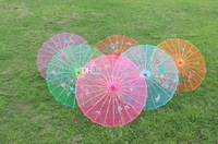 Chinese style silk wedding umbrella color vintage umbrella dance umbrella bamboo cytoskeleton