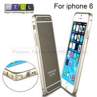 "Ultra thin Slim Aluminium Metal Bumper Frame Case For Apple Iphone 6 4.7"" /i6 iphone6 plus 5.5inch Drop shipping"