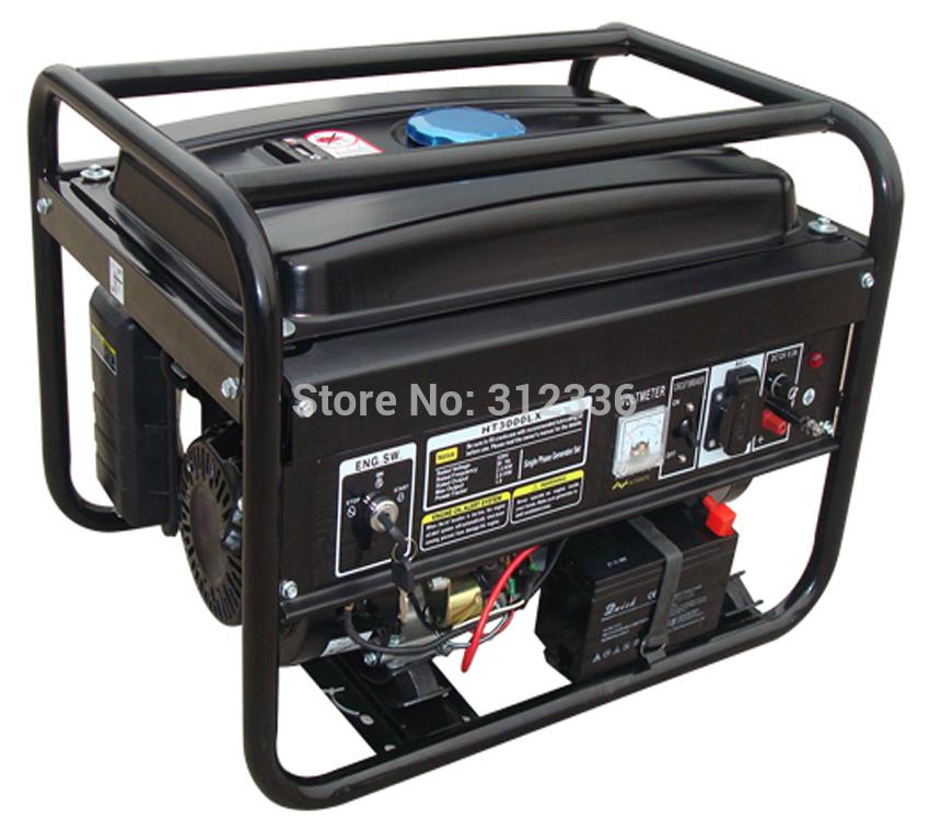 free shipping portable generator 3500 2.5kw 168FE GX200 Electric starting OHV 6.5hp single phase 220V 50Hz(China (Mainland))