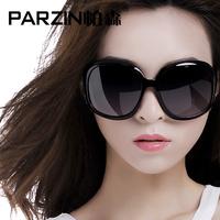 Ms. 2014 new fashion sunglasses retro trend of large-framed glasses polarizer mirror 6216