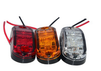 2pcs 12v Daytime Running light /Parking Warning lights LED Side Marker Light Clearance Lamp E-marked DOT Car Truck Trailer  Rear