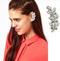 Mini Order $8.8(Mix Orders) Europe and United States Hot Sale Modern Shining Rhinestone Clip Earring for Women FE0133