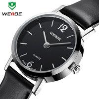 Hot sale WEIDE fashion casual watch women 3ATM genuine leather straps watches analog Japan quartz movement ladies wrist watch