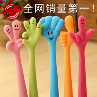 Created Stationery New Novelty Products Cartoon Ballpoint Pen Mont Black Cute Ballpoint Pen 10pcs/pack