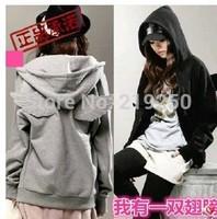 Free shipping! 2014 new listing, woman autumn zipper cardigan sweater wings