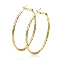 4.8X4.6CM 18K Golden Plated Jewelry  2014 Hoop Earrings for Women Fashion Earing for Women 2014 Classic Earrings