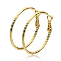 4.2X4.0CM 18K Golden Plated Jewelry  2014 Hoop Earrings for Women Fashion Earing for Women 2014 Gold Plated Brand Earrings