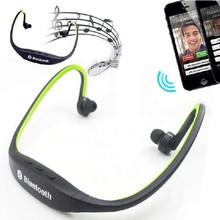 Sports Stereo Wireless Bluetooth 3.0 Headset Earphone Headphone for iPhone 5s 4 Galaxy S4 S3 HTC LG Smartphone
