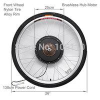 25km/h,36v 250w electiric bike conversion rear kits,e-bike kits