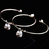 Wholesale Korean Version Of Personality Simple Ball Zircon Bracelet For Women