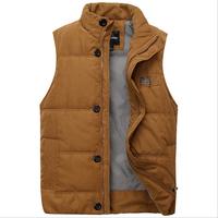 2014 new winter vest men Warm Man's outdoors down jacket Fashion Waistcoat , men vest slim casual waistcoat free shipping  N8111