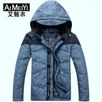 Winter Warm Men's Short Thick Down Jacket Men Outdoor 2014 Hot Sale New