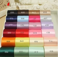38mm  24 colors mix total 48 yards per set double face ribbon for craft handmade hair bow material
