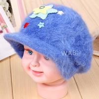children warm fur cap Christmas Baby Winter Fur Cap Children's Winter Warm 2014 new autumn and winter hat
