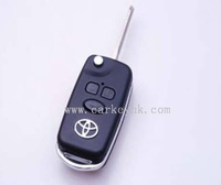 Toyota car key&Direct Factory Modified Toyota Corolla, Vios 3 buttons remote key shell for key toyota
