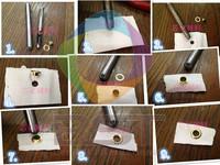 Foam board,pvc foam board ,paper board punching tool,circle shape ,7pcs/pack ,free shipping