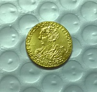 1726 Russia GOLD COIN COPY FREE SHIPPING