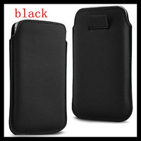 Free Shipping 200pcs/lot Pull Tab Pouch Leather Case For Samsung Galaxy Note 4 Wholesale