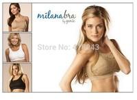 Milana Bra by Genie Lady's Seamless Lace Sports Yoga Bras with removable pads 3pcs/set