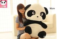 huge lovely plush panda toy big black and white panda doll hug bear toy birthday gift toy about 90cm