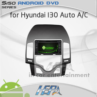 HEPA car gps audio stereo dvd player for Hyundai I30 Auto AC with mp3 car bluetooth gps