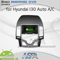 HEPA car gps audio stereo dvd player for Hyundai I30 Auto AC with mp3 car bluetooth gps