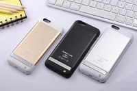 3800mAh Power Bank External Backup Battery Charger Case for iPhone 6, Back metal Cell phone case for iPhone 6 free shipping