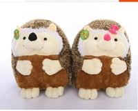 a pair of lovely hedgehog toys plush cartoon hedgehog dolls boy and girl hedgehog toys birthday gift about 40cm