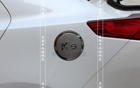 Stainless Steel Fuel Oil Gas Cap Tank Cover Trim For KIA K5 Optima 2011 2012 2013