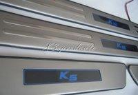 LED Door Sill Scuff Plate For 2010 2011 Kia K5 Optima