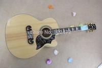 TOP SJ20043 inch cutaway acoustic guitar ballad Logs Color
