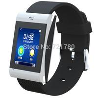 "Bluetooth 3.0 Smart Watch 1.54"" FM Sync Calls message Wap with anti-lost Pedometer Remote control Smartwatch Phone Wristwatch"
