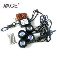 13 Strobe Flash Mode Universial For All Car Accessories Daytime Running Drving Fog Light High Power Cree LED Chip Aluminum Alloy