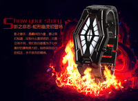 Men LED watch, Student Digital Watch,Sauron - Japanese Inspired Red And Blue Snake Watch, Best Choice For Gift