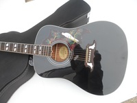 special offer 41 inch folk acoustic guitar Black DOVE