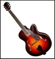 yunzhi 17 inch fully Handmade Jazz Guitar