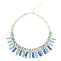 Canlyn Jewelry (2 Pieces/lot) New Design Colar Multicolor Statement Necklace Collier Bijoux for Women Wholesale CX207