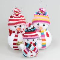 Christmas decoration Christmas tree decorations Christmas snowman doll good quality C348 12*8cm