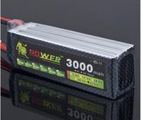 Free shipping 22.2V 3000MAH 25C 6S rc lipo battery pack batteries batteri akku helicopter accus batteria airplane lipos