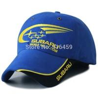 2014 Subaru Car cap SPARCO  six star embroidery Motorcycle F1 racing cap snapback bone Blue car cap Baseball cap Drop shipping
