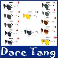 2014 Sale Unisex Fashion Vintage Polarized Lenses Sunglasses for Women Men Protection Optical Fashion SunGlasses Wholesale 030