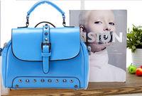 Ms. Rivet fashion casual fashion bags shoulder bag Messenger bag handbag bag trend in Europe and America