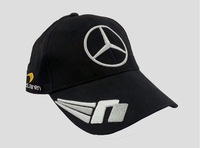 Free Shipping 2014 the newest V embroidery mclaren F1 racing cap Black F1 Car Motorcycle outdoor sports Baseball hat cap